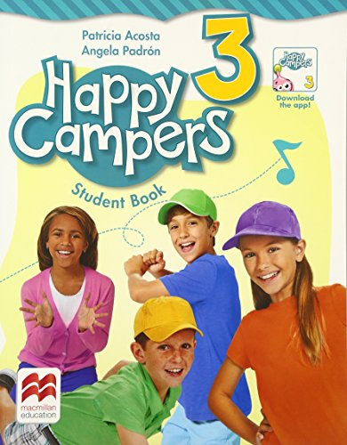 9780230470729: Happy Campers Level 3 Student's Book/Language Lodge