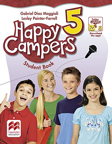 9780230470736: Happy Campers Level 5 Student's Book/Language Lodge