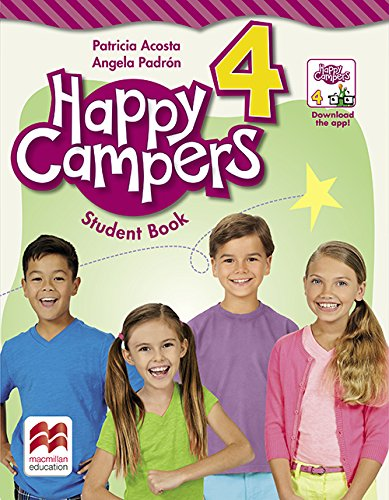 9780230471108: Happy Campers Level 4 Student's Book/Language Lodge
