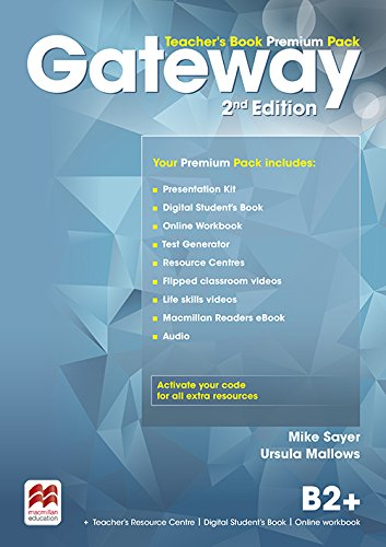 9780230473225: Gateway B2+ Teacher's Book Premium Pack (Gateway 2nd Edition)