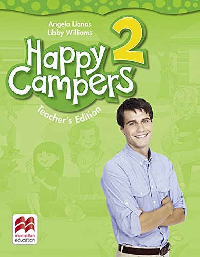 9780230473416: Happy Campers 2 Teacher's Book Pack