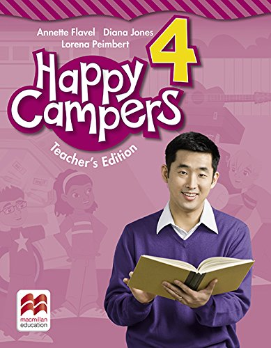 9780230473584: Happy Campers Level 4 Teacher Edition Pack