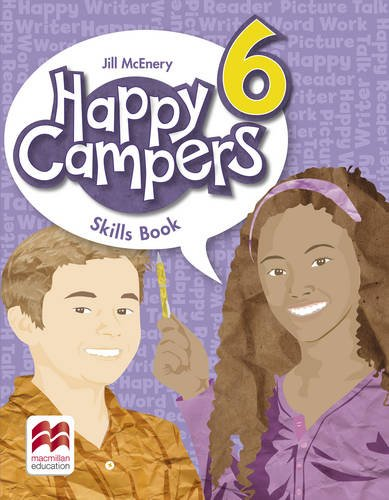 Happy Campers Level 6 Skills Book: McEnery, Jill