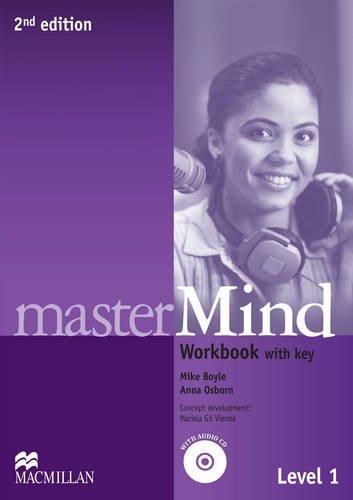 9780230474338: masterMind (2nd Edition) 1 Workbook with Key & Workbook Audi