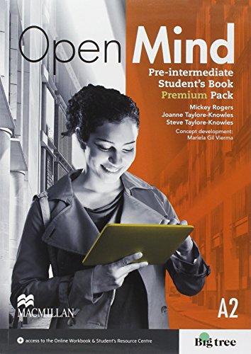 9780230474598: Open mind pre-intermediate. Student's book-Workbook. Without key. Stu dent's resources centre. Con e-book. Con espansione online. Per le Scuole superiori