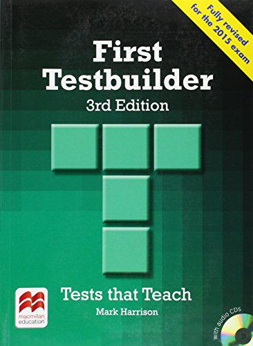 9780230476127: First Testbuilder Student's Book Without Key Pack