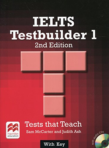 9780230476141: IELTS 1 Testbuilder Student's Book with Key Pack