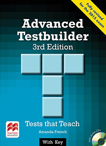 9780230476202: Advanced Testbuilder CAE 3rd Edition Student's Book with Key Pack