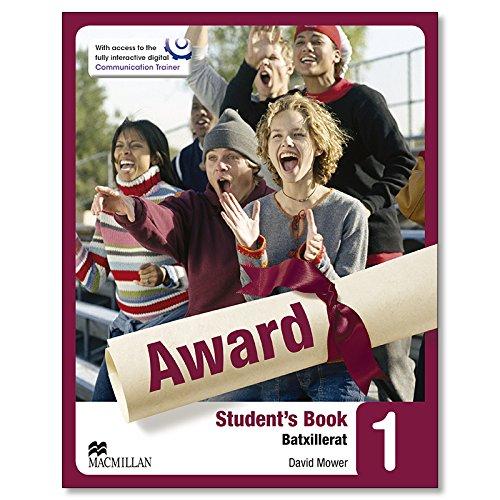 9780230479012: Award 1- Sudent's Book (Batxillerat)