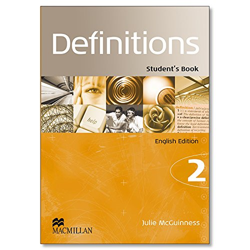 9780230479180: DEFINITIONS 2 STUD.PACK INGLE.14 MCMILLA