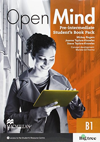 9780230480292: OPEN MIND Pre-Int Sts & Wb (-Key) Pack