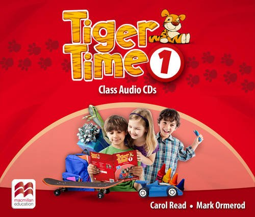 9780230483590: Tiger Time Level 1 Audio CD