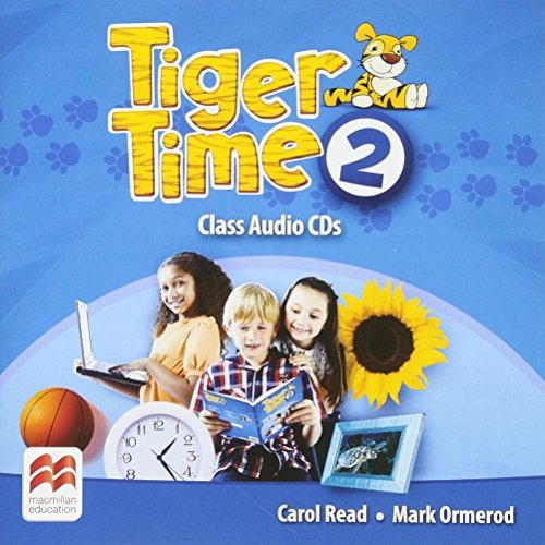 9780230483644: Tiger Time Level 2 Audio CD