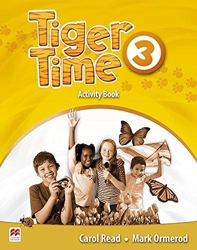 9780230483675: Tiger Time 3 Activity Book (A1-A2)