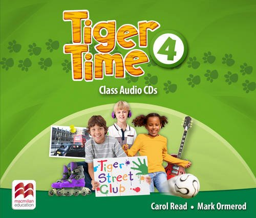 9780230483743: Tiger Time Level 4 Audio CD