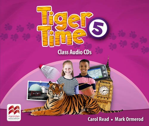 9780230483798: Tiger Time Level 5 Audio CD
