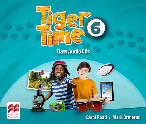 9780230483842: Tiger Time Level 6 Audio CD