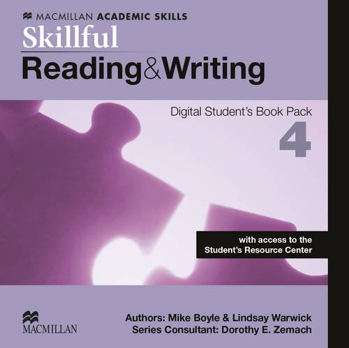Skillful Level 4 Reading Writing Digital Student s Book Pack (Mixed media product): Steve Gershon, ...