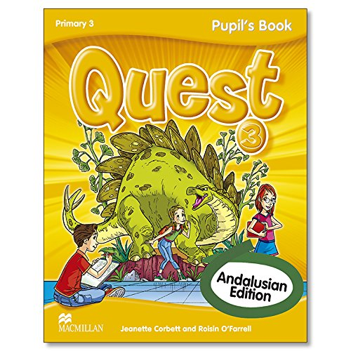 Quest 3 Pupil s Book Andalusian edition: VV.AA.