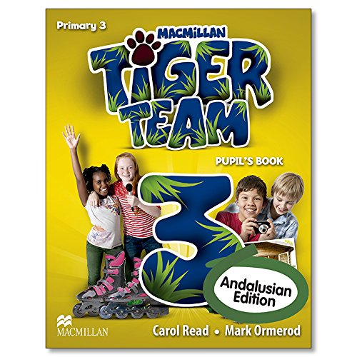9780230492592: TIGER 3 PUPIL ANDALUCIA
