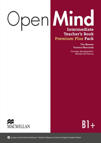 9780230495340: Open Mind British edition Intermediate Level Teacher's Book Premium Plus Pack