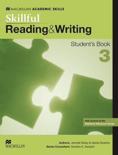 9780230495753: Skillful 3 (Upper Intermediate) Reading and Writing Student's Book Pack