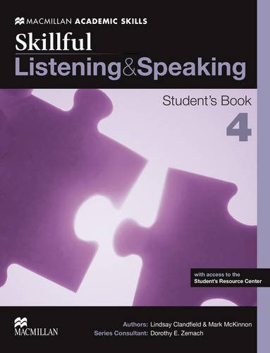 Skillful 4 (advanced) Listening and Speaking Student's Book Pack (Book & Merchandise): ...