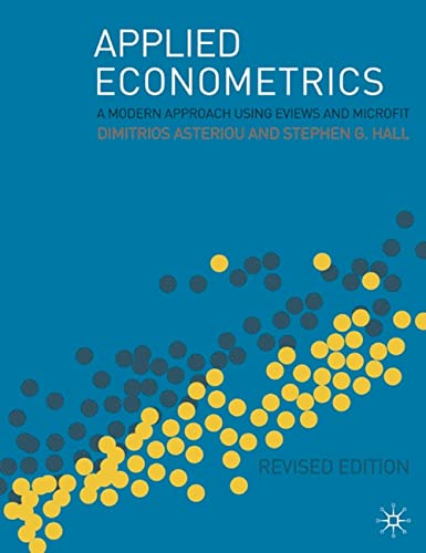 9780230506404: Applied Econometrics: A Modern Approach Using Eviews and Microfit