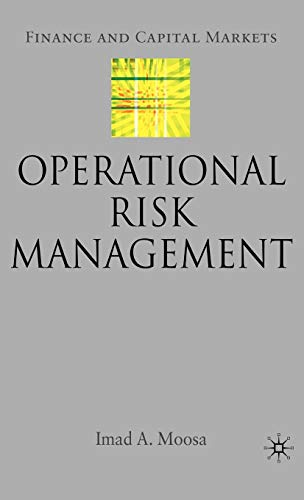 9780230506442: Operational Risk Management (Finance and Capital Markets Series)