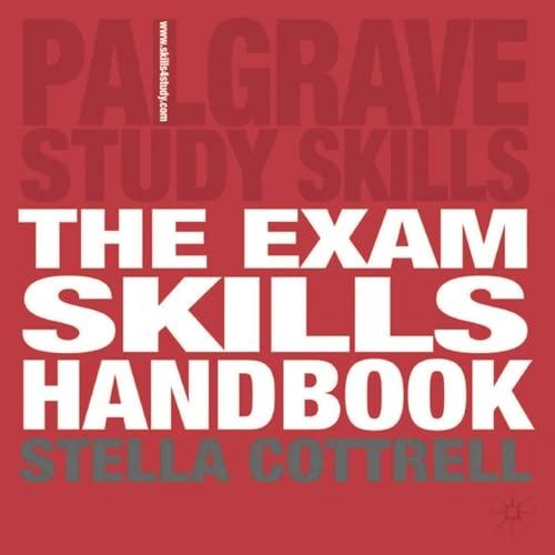 9780230506534: The Exam Skills Handbook (Palgrave Study Guides)