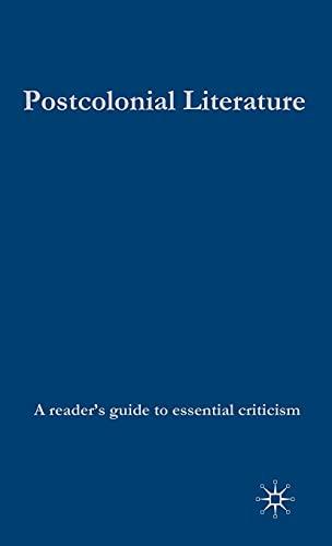 9780230506732: Postcolonial Literature