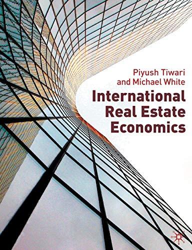 9780230507586: International Real Estate Economics