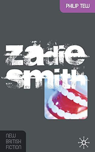 9780230516762: Zadie Smith (New British Fiction)