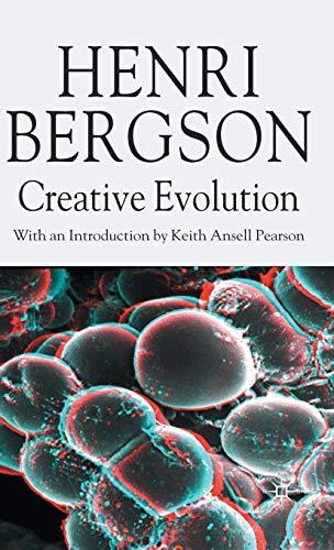 9780230517219: Creative Evolution (Henri Bergson Centennial Series)