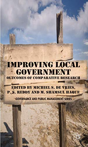 9780230517523: Improving Local Government: Outcomes of Comparative Research (Governance and Public Management)