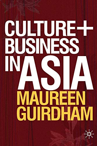 9780230518087: Culture and Business in Asia