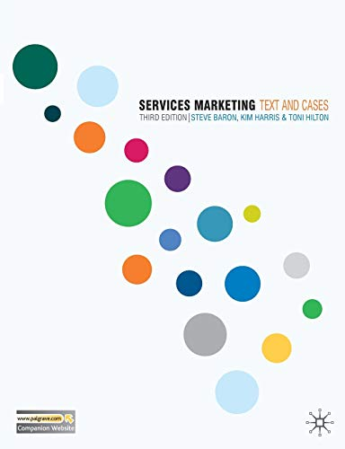 9780230520936: Services Marketing: Text and Cases