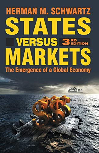 9780230521285: States Versus Markets: The Emergence of a Global Economy