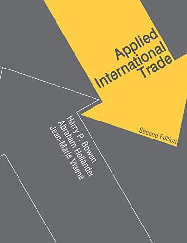 9780230521544: Applied International Trade