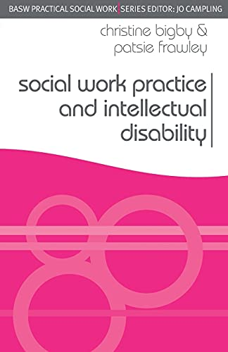9780230521667: Social Work Practice and Intellectual Disability: Working to Support Change (Practical Social Work Series)