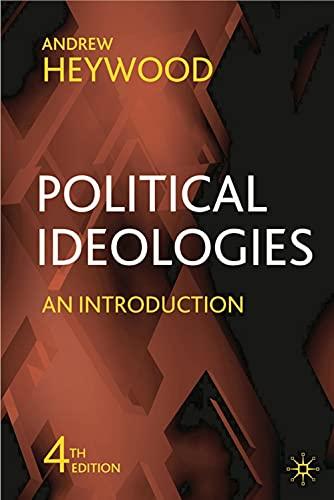 9780230521797: Political Ideologies: An Introduction
