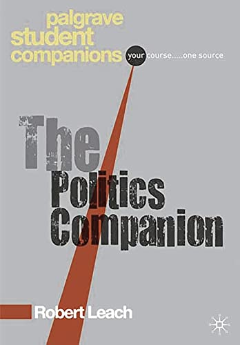 9780230524972: Politics (Palgrave Foundations Series)