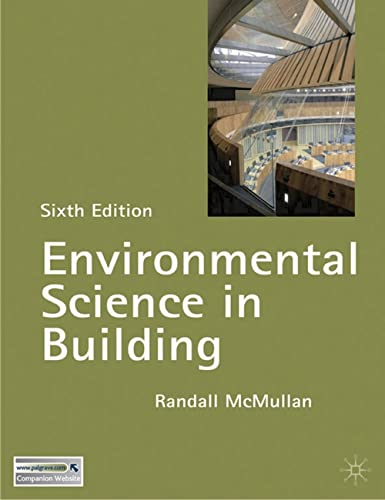 9780230525368: Environmental Science in Building (Building & Surveying Series)
