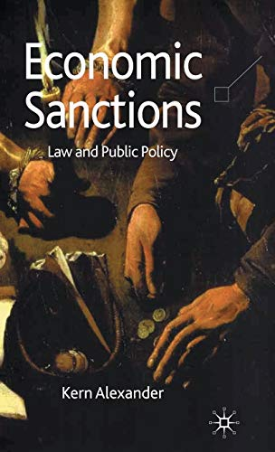 9780230525559: Economic Sanctions: Law and Public Policy