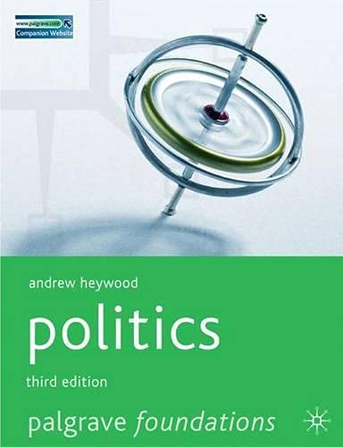 9780230525573: Politics (Palgrave Foundations Series)