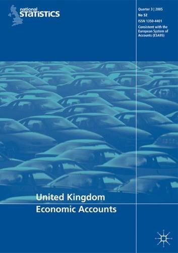 9780230526198: United Kingdom Economic Accounts: 2nd Quarter 2007 No. 59