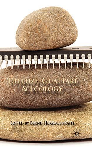 9780230527447: Deleuze/Guattari & Ecology