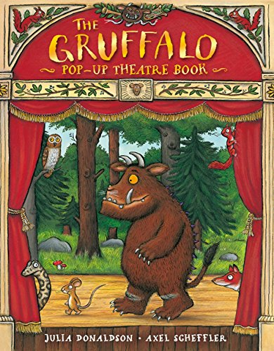 9780230531796: Gruffalo Theatre and Toy Website Exclusive: The Gruffalo Pop-Up Theatre Book: 1