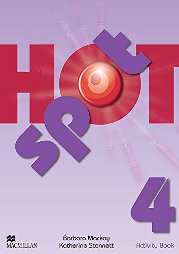9780230533837: Hot spot. Activity book. Per la Scuola media: HOT SPOT 4 Act