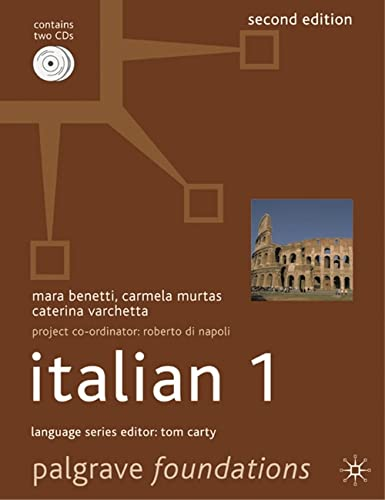 9780230537828: Foundations Italian 1 (Palgrave Foundation Series Languages)